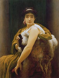 Twixt Hope and Fear, c.1895 by Frederick Leighton | Painting Reproduction