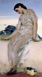 The Knucklebone Player, 1867 by Frederick Leighton | Painting Reproduction