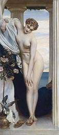 Venus Disrobing for the Bath, undated by Frederick Leighton | Painting Reproduction