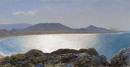 Bay Scene, Island of Rhodes, undated by Frederick Leighton | Painting Reproduction