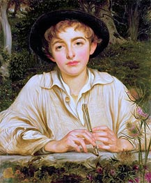 Rustic Music, undated by Frederick Leighton | Painting Reproduction