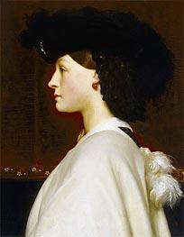Augusta Hoare | Frederick Leighton | Gemälde Reproduktion