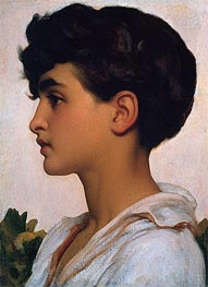 Portrait of Paolo | Frederick Leighton | Gemälde Reproduktion
