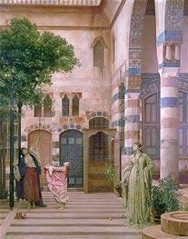 Old Damascus, Jewish Quarter (Gathering Lemons) | Frederick Leighton | veraltet