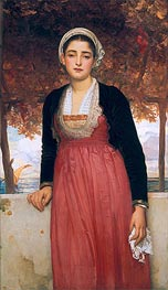 Amarilla, undated by Frederick Leighton | Painting Reproduction