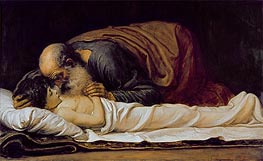 Elisha Healing the Son of the Shunamite Widow | Frederick Leighton | veraltet