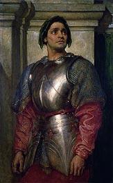 A Condottiere | Frederick Leighton | veraltet
