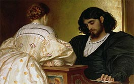 Golden Hours, 1864 by Frederick Leighton | Painting Reproduction