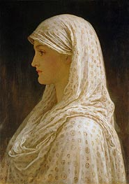 The Vestal, c.1882/83 by Frederick Leighton | Painting Reproduction