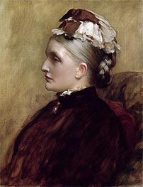 Alexandra Leighton (Mrs Sutherland Orr), 1891 by Frederick Leighton | Painting Reproduction