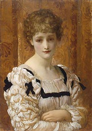 Bianca, c.1881 by Frederick Leighton | Painting Reproduction