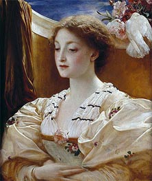 Bianca, 1862 by Frederick Leighton | Painting Reproduction