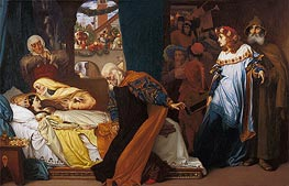 The Feigned Death of Juliet | Frederick Leighton | veraltet