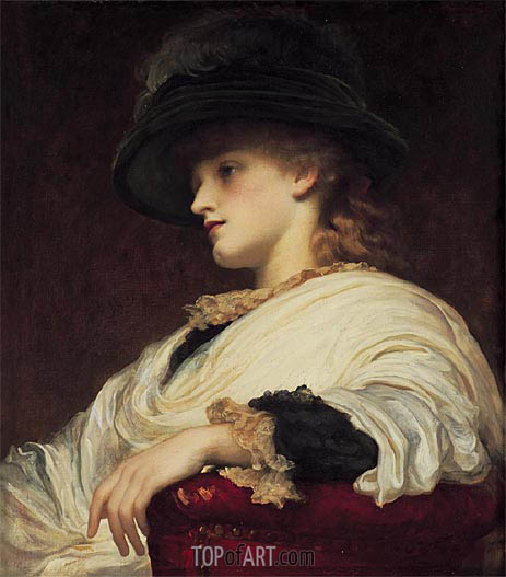 Phoebe, undated | Frederick Leighton | Painting Reproduction