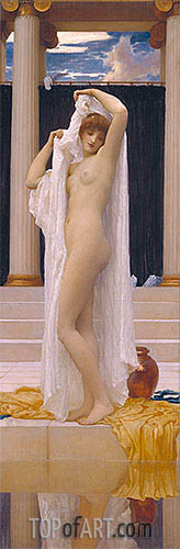 The Bath of Psyche, c.1890 | Frederick Leighton| Painting Reproduction