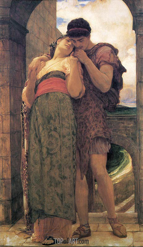 Wedded, 1882 | Frederick Leighton| Painting Reproduction