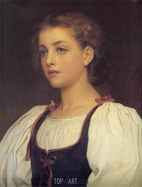 Biondina, 1879 | Frederick Leighton | Painting Reproduction