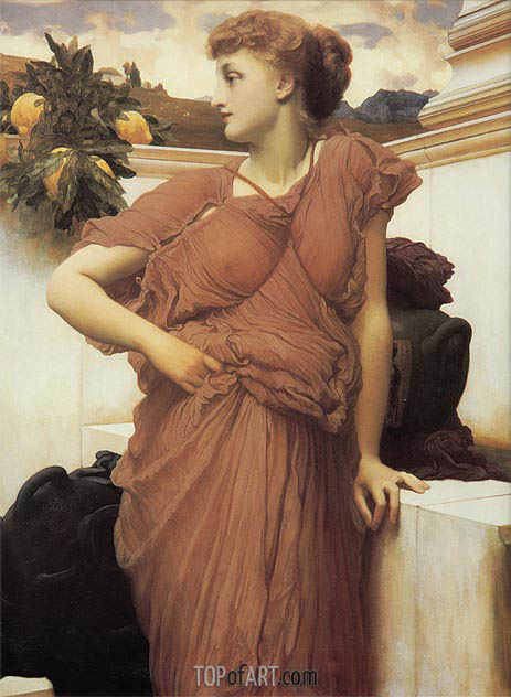 Frederick Leighton | At the Fountain, c.1891/92