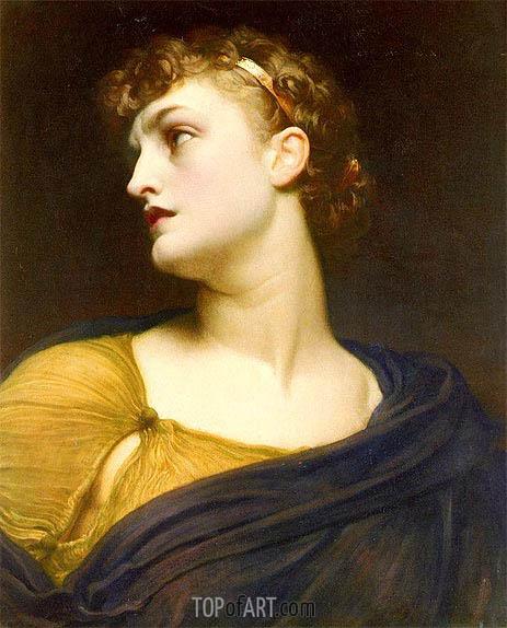 Frederick Leighton | Antigone, 1882