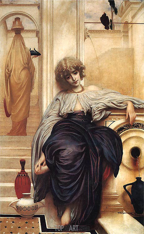 Songs Without Words (Lieder Ohne Worte), 1861 | Frederick Leighton| Painting Reproduction