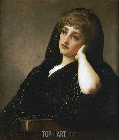 Memories, c.1883 | Frederick Leighton | Painting Reproduction
