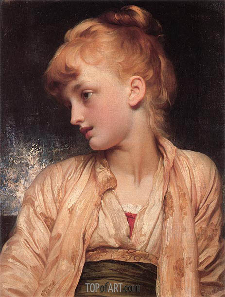 Gulnihal, c.1886 | Frederick Leighton | Painting Reproduction