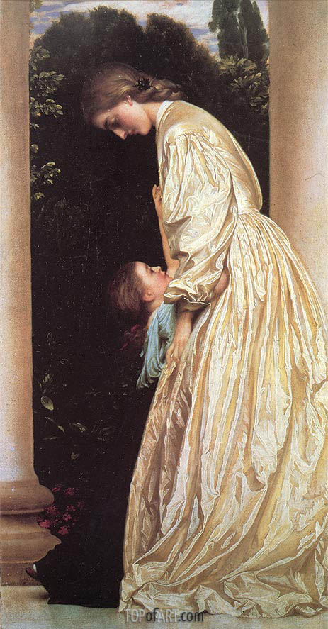 Sisters, c.1862 | Frederick Leighton | Painting Reproduction