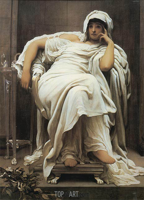 Fatidica, 1894 | Frederick Leighton | Painting Reproduction