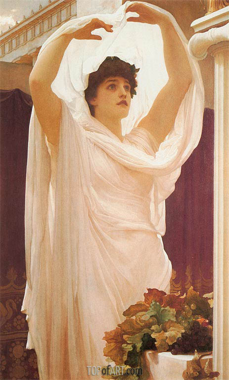 Invocation, 1889 | Frederick Leighton| Painting Reproduction