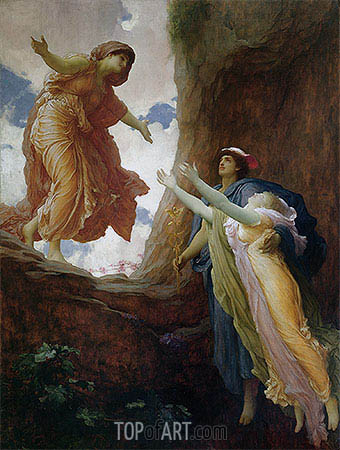 Return of Persephone, c.1891 | Frederick Leighton| Gemälde Reproduktion