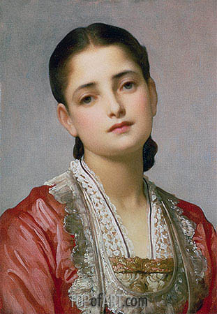 Anita, undated | Frederick Leighton| Painting Reproduction