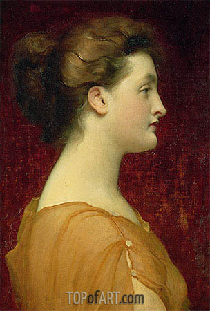 Candida, undated | Frederick Leighton | Painting Reproduction