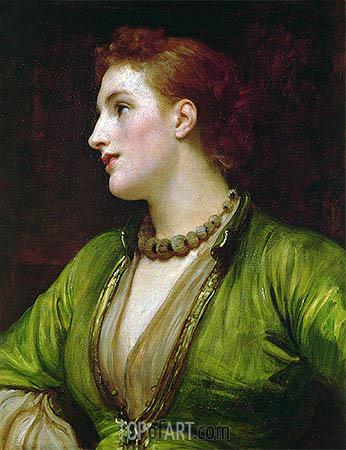 Rubinella, undated | Frederick Leighton | Gemälde Reproduktion
