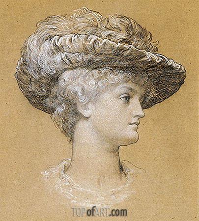 Frederick Leighton | Portrait of Dorothy Dene, 1884