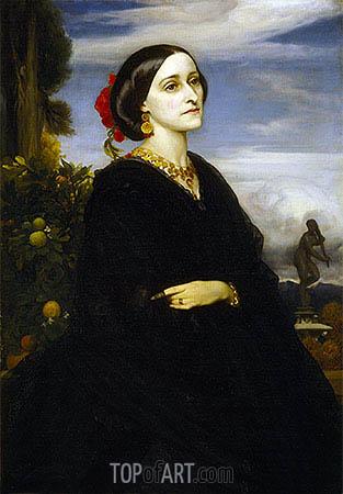 Augusta East, Lady Hoare, undated | Frederick Leighton | Gemälde Reproduktion