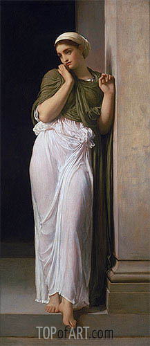 Nausicaa, 1878 | Frederick Leighton| Painting Reproduction