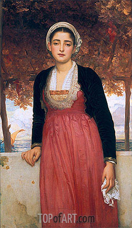 Amarilla, undated | Frederick Leighton| Painting Reproduction
