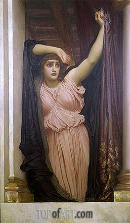 The Last Watch of Hero, 1887 | Frederick Leighton | Painting Reproduction