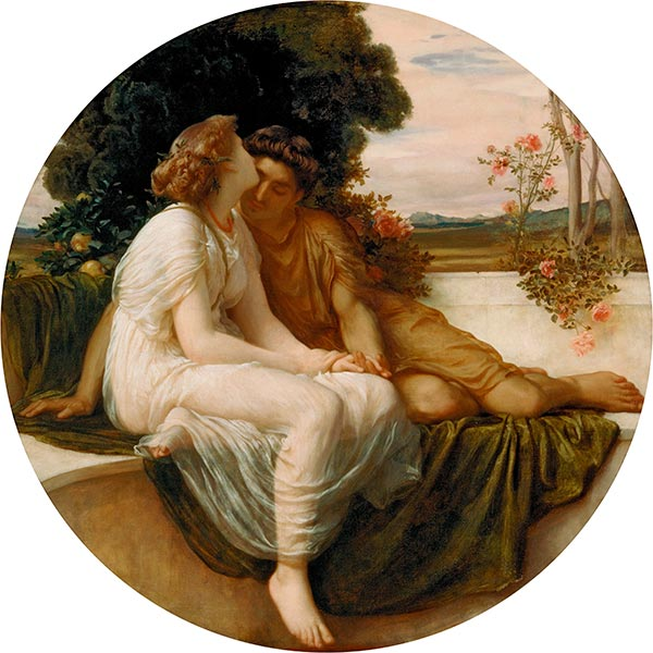 Acme and Septimus, c.1868 | Frederick Leighton | Gemälde Reproduktion