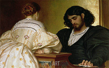 Golden Hours, 1864 | Frederick Leighton | Painting Reproduction
