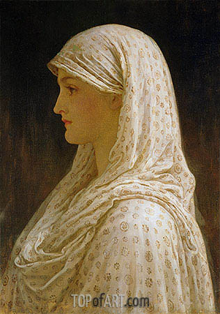 The Vestal, c.1882/83 | Frederick Leighton| Painting Reproduction