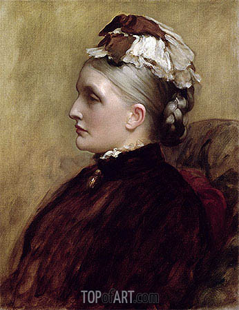 Alexandra Leighton (Mrs Sutherland Orr), 1891 | Frederick Leighton | Painting Reproduction