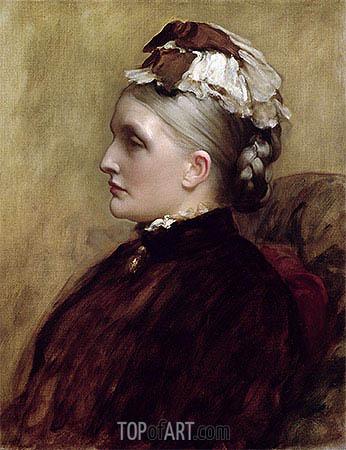 Alexandra Leighton (Mrs Sutherland Orr), 1891 | Frederick Leighton | Gemälde Reproduktion