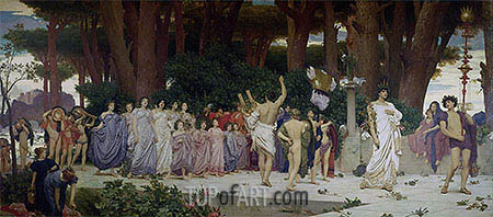 The Daphnephoria, c.1874/76 | Frederick Leighton| Painting Reproduction
