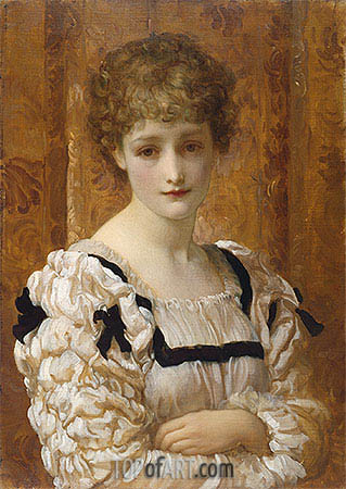 Frederick Leighton | Bianca, c.1881
