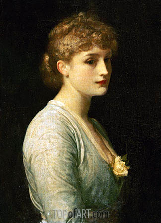 Type of Beauty, undated | Frederick Leighton | Painting Reproduction