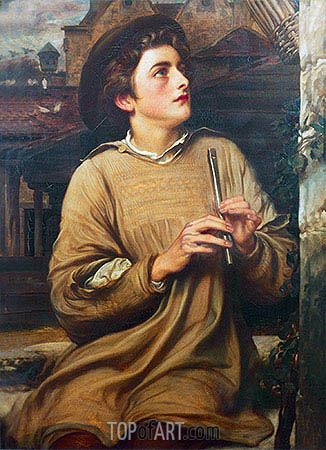 Duett: John Hanson Walker, 1862 | Frederick Leighton | Painting Reproduction