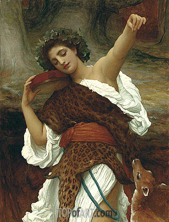 Bacchante, 1892 | Frederick Leighton | Painting Reproduction