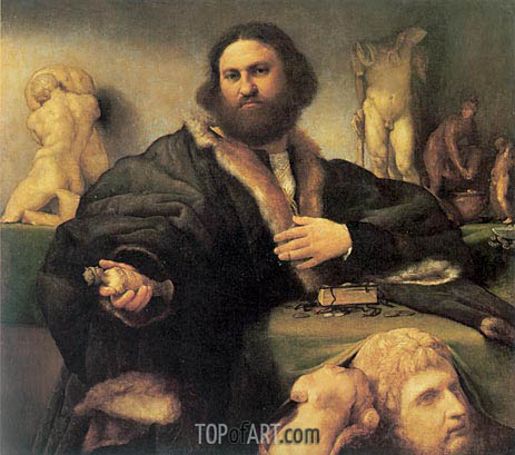 Lorenzo Lotto | Portrait of Andrea Odoni, 1527