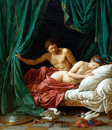 Mars and Venus an Allegory of Peace, 1770 | Lagrenee| Painting Reproduction